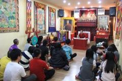 Diskusi Dharma dengan TPKB di Vihara Triyana DC