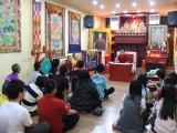 Diskusi Dharma bersama Sangter Rinpoche dengan para mahasiswa TPKB dari ITS tanggal 20 Oktober 2012