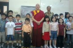 Kunjungan Lama Namgyal ke SD Kartika Nasional Plus - Panjang jiwo 10 Januari 2013