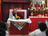 Sesi tanya jawab antara Sangter Rinpoche dengan para umat