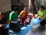 Puja aspirasi di Joko Dolog dipimpin oleh Lama Namgyal
