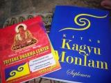 Kitab suci yang dilafalkan selama sesi puja aspirasi di Joko Dolog pada tanggal 23 september 2012