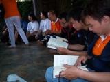 Pembacaan buku suplemen monlam