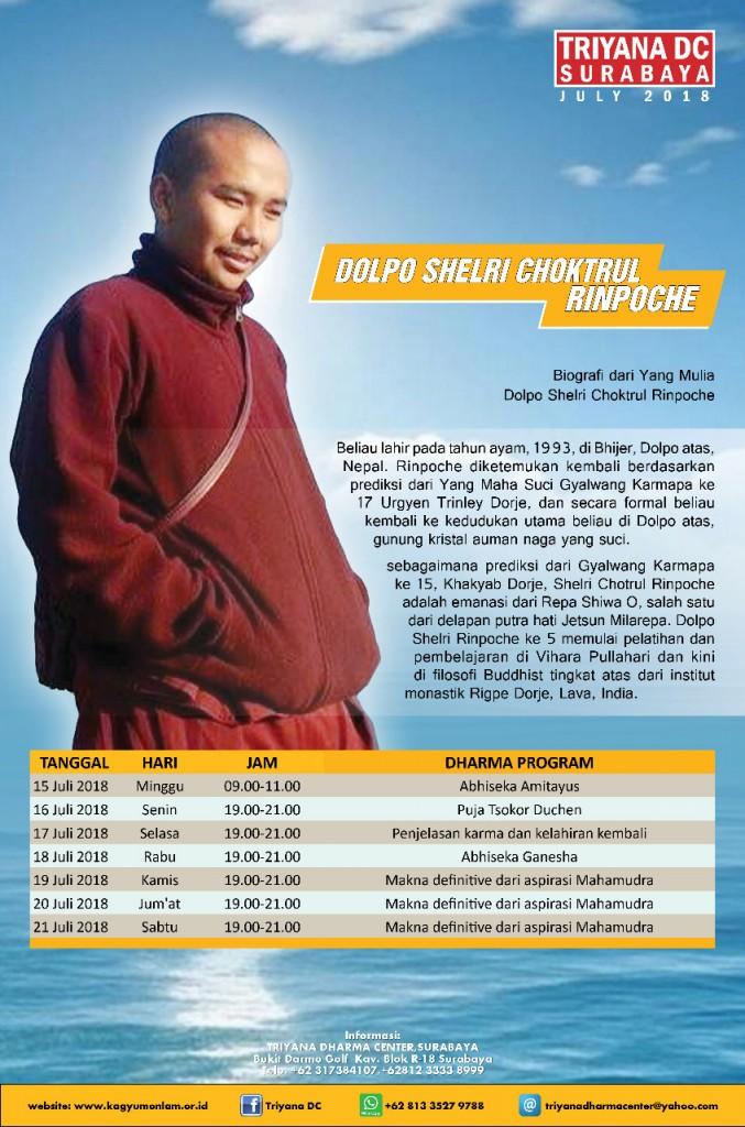 Dolpo Shelri Choktrul Rinpoche
